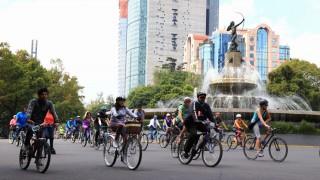 Con afluencia de más de 60 mil participantes, reanuda actividades Muévete en Bici