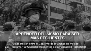 Presenta SEDEMA, Comisión para la Reconstrucción y 100 RC  Informe de Logros de Resiliencia Sísmica