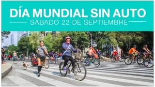 Se suma la CDMX al Día Mundial SIN-AUTO con actividades en favor de peatones y ciclistas