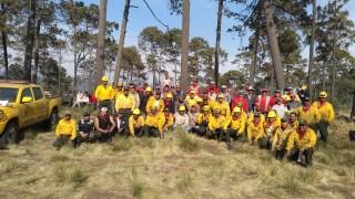 Combate Gobierno de la Ciudad de México coordinadamente con la Federación incendio forestal en Milpa Alta